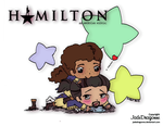 Hamilton and Laurens - Colored by JadeDragonne