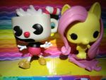 my two Funko Pop figures by user15432