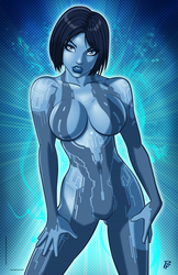 Cortana by PatrickFinch