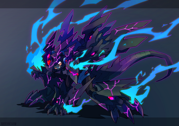 Corrupted Armor by Tomycase