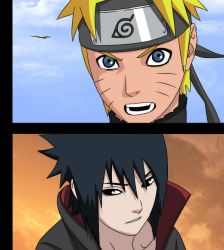 Naruto And Sasuke :449: by Guitar10go