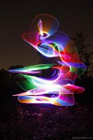 Abstract Light Painting 02 by jibedo