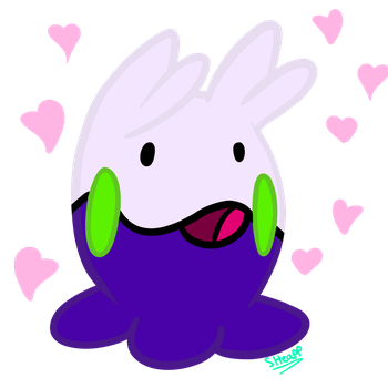 #704 Goomy!! by MachineGunEddie