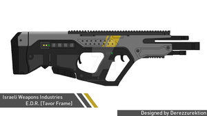 Electric Defense Rifle [Tavor Frame] by DeRezzurektion