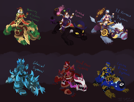 Sejuani skins that will never happen ver 10 by Hyper-Stan