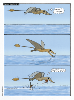 Rhamphorhynchus not into skim-feeding by GaffaMondo