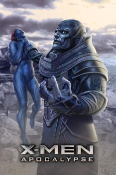 Official X-Men: Apocalypse Movie Poster