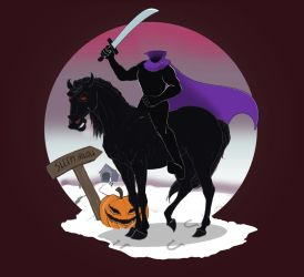 Disney Headless Horseman by HimmeltheBlue