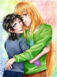 OC - Luck and Nao by CIELO-PLUS