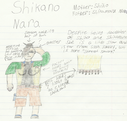 Naruto Child OC: Shikano Nara by Blades252