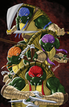 Teenage Mutant Ninja Turtles Print by blaquejag