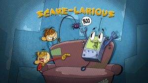 scare larious by HEROBOY