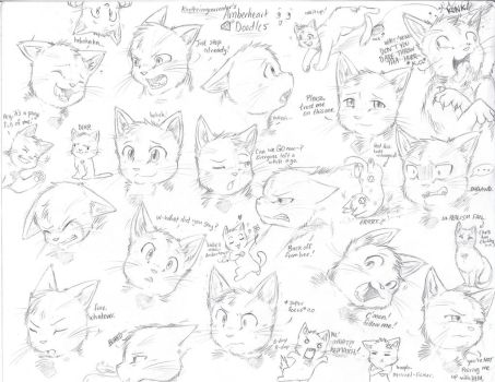 Amberheart Expressions by Kaotheroogoncreator