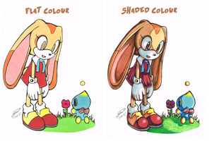 Flat and Shaded_coloured by f-sonic