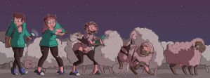 CMSN - Counting sheep by JamsnJellies