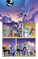 My Little Pony Issue 8 Page 1 by angieness