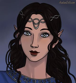 Luthien Tinuviel by Aylatha