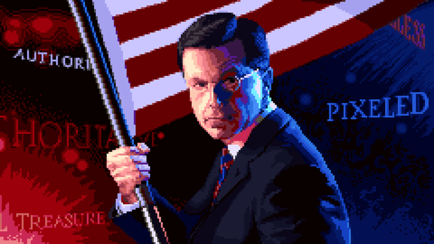 The Patriot (Pixeled by hand) by gas01ine