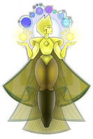 Yellow Diamond by AReallyBoredArtist