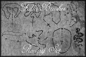 Rosary Brushes Set by Falln-Brushes