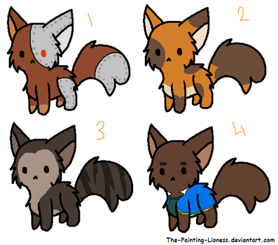 cat adoptable batch: two   open by morganjadeeadopts