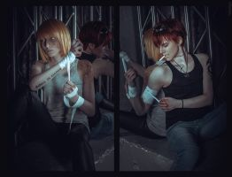 Fight club Mello and Matt #1 by pollypwnz