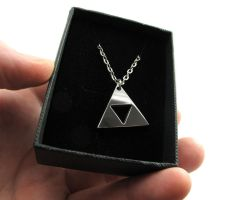 Triforce Stainless Steel by milkool