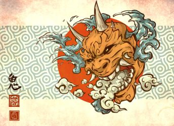Hannya by Ghost-Hinimoto