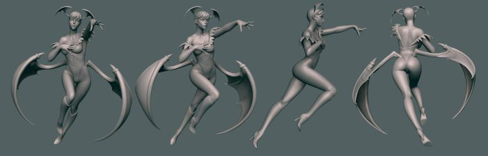 Morrigan Wip 10 by HazardousArts