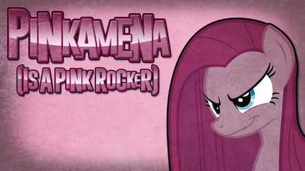 Cover Art - Pinkamena (Is A Pink Rocker) by Dxthegod