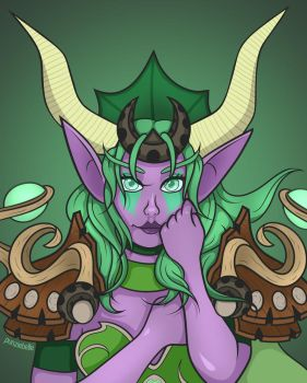 Ysera, the Dreamer by punziebelle