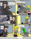 Clash of the Time Travelers by CDRudd