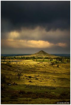 Storms Over The American West by kkart
