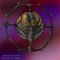 Movie Style Planet Unicron by Okida