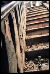 Dusty Stairs by RikkeRex
