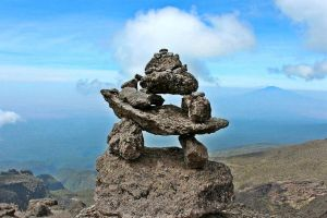Kilimanjaro Cairn by Nergling