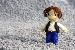 Han Solo - Star Wars Amigurumi doll by BramaCrochet