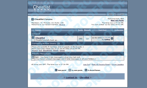 Cheatlist Template by exs