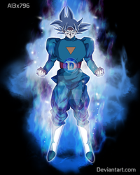 Mastered Goku Daishinkan Aura - SDBH by AL3X796
