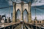 Suspended   East River by JasonKoons