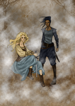 Tarma and Kethry by doll-fin-chick