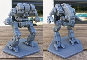 MWGoW 3d Printed Mad Dog / Vulture prototype by MasakariPrime