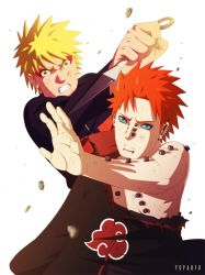 Naruto vs. Pain by yopakfu