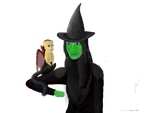 Elphaba and Chistery by Jayie-The-Hufflepuff