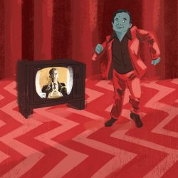 Twin Peaks, The Man from Another Place by JoanGuardiet