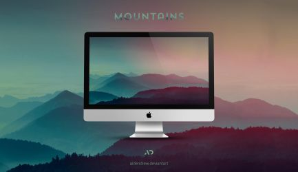 Mountains by AidenDrew