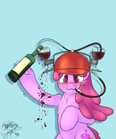 Wine Hat by JoRoBro