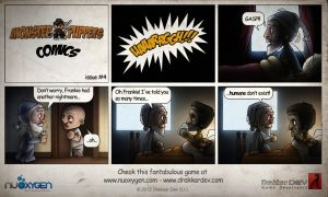Monster of Puppets Comics #4 by doms3d