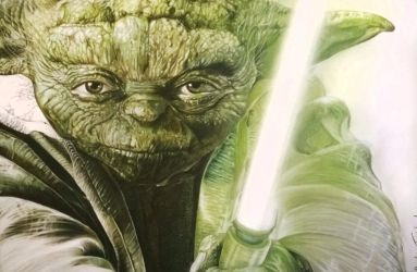 Master Yoda by thefrenchberet