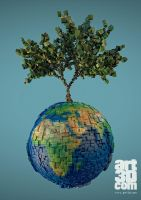 Planet Tree by ChrRambow